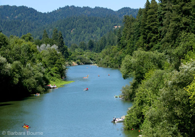 The Russian River In 58
